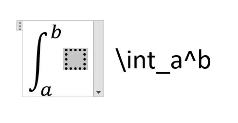 تایپ انتگرال فرمول ریاضی