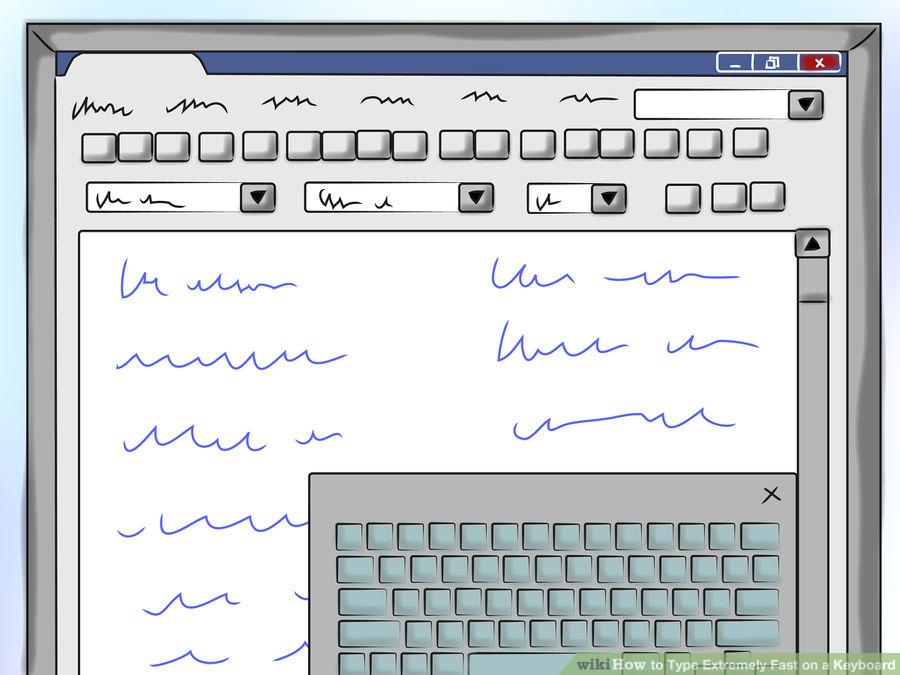 تایپ سریع ، تایپیست سریع ، چگونه سریع تایپ کنیم؟ چگونه تایپیست فوری باشیم؟ تایپ آنلاین و فوری ، روش صحیح و اصولی تایپ